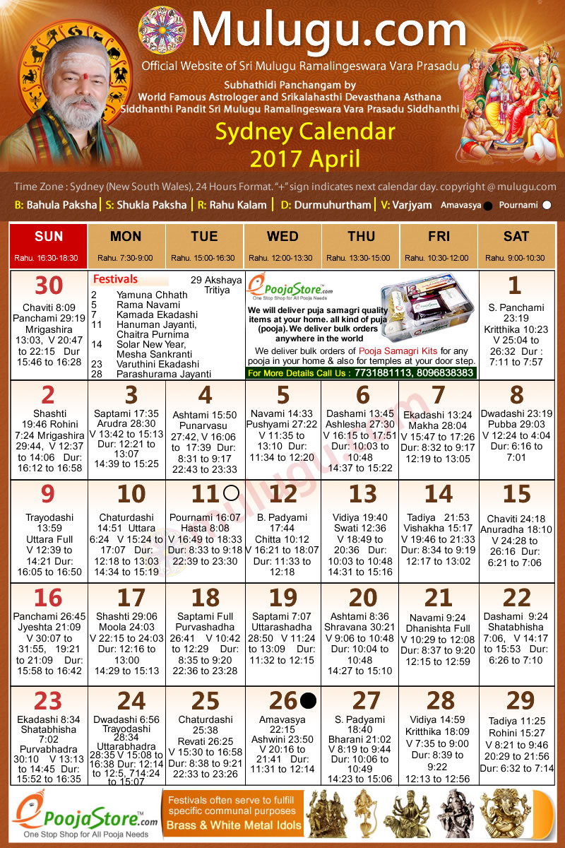 April Calendar Nsw : Sydney australia telugu calendar april mulugu