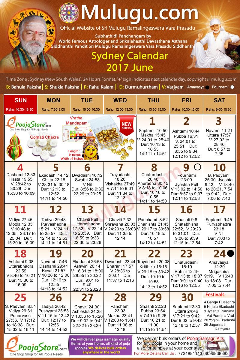 June Telugu Calendar : Sydney australia telugu calendar june mulugu