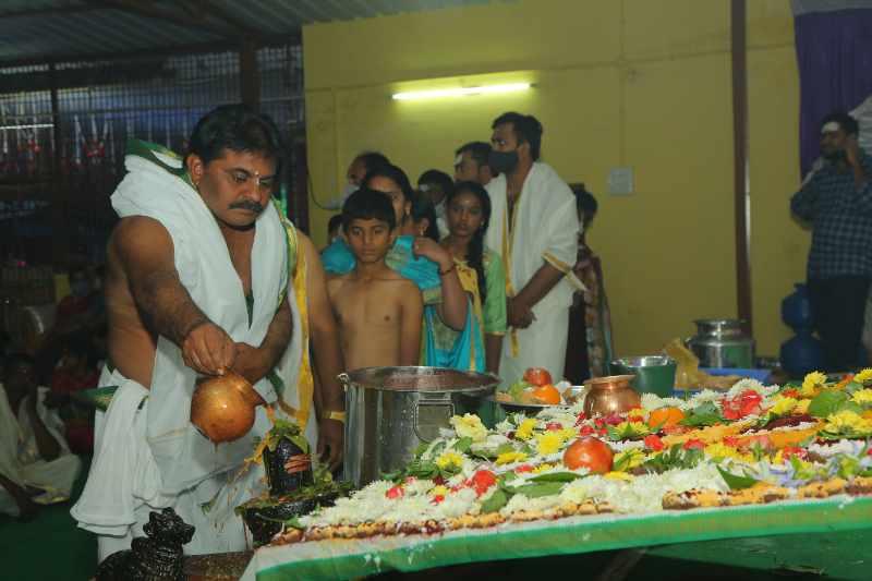 Maha Shivaratri Special Sahasra Lingarchana Sahitha Maha Pashupatha Homam March 11th 2021@ Mulugu Siddanthi Ashramam in Srisailam (100)