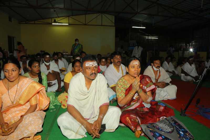Maha Shivaratri Special Sahasra Lingarchana Sahitha Maha Pashupatha Homam March 11th 2021@ Mulugu Siddanthi Ashramam in Srisailam (13)
