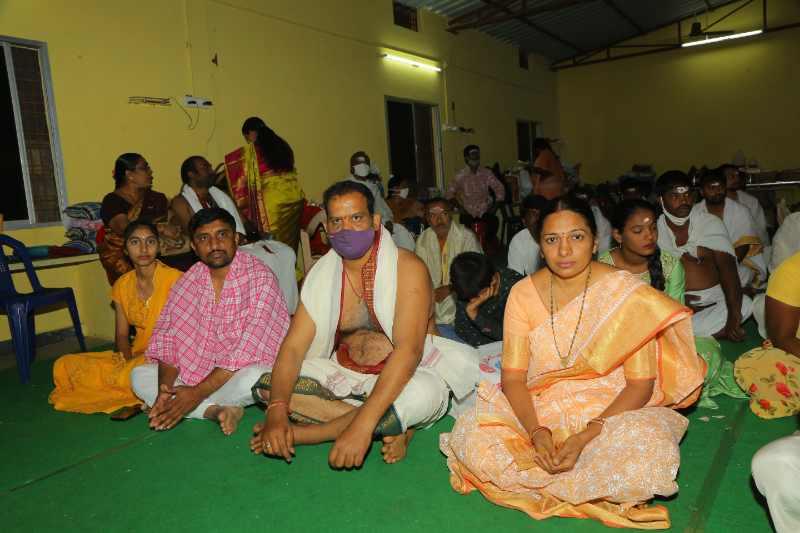 Maha Shivaratri Special Sahasra Lingarchana Sahitha Maha Pashupatha Homam March 11th 2021@ Mulugu Siddanthi Ashramam in Srisailam (14)