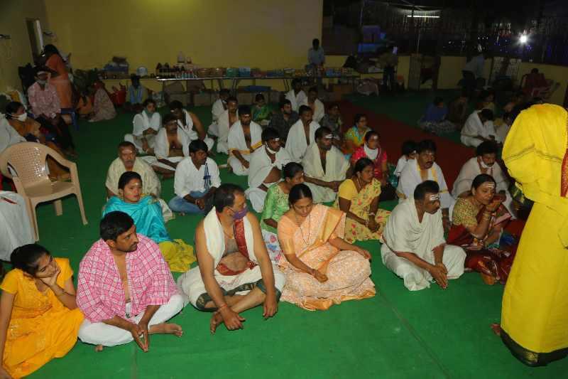 Maha Shivaratri Special Sahasra Lingarchana Sahitha Maha Pashupatha Homam March 11th 2021@ Mulugu Siddanthi Ashramam in Srisailam (15)