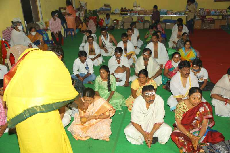 Maha Shivaratri Special Sahasra Lingarchana Sahitha Maha Pashupatha Homam March 11th 2021@ Mulugu Siddanthi Ashramam in Srisailam (16)