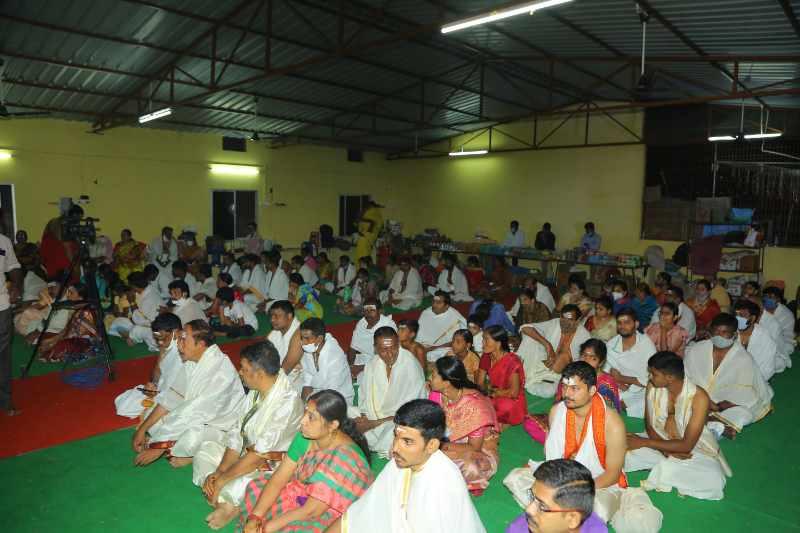 Maha Shivaratri Special Sahasra Lingarchana Sahitha Maha Pashupatha Homam March 11th 2021@ Mulugu Siddanthi Ashramam in Srisailam (17)