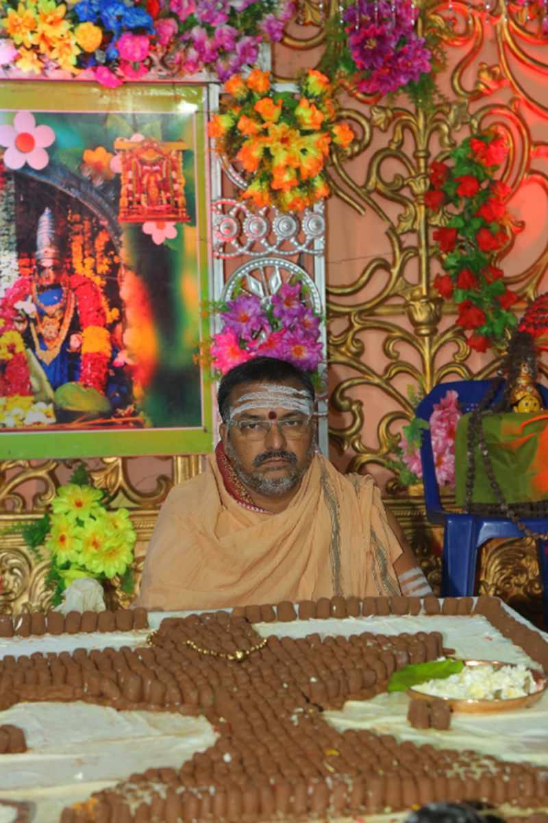 Maha Shivaratri Special Sahasra Lingarchana Sahitha Maha Pashupatha Homam March 11th 2021@ Mulugu Siddanthi Ashramam in Srisailam (23)