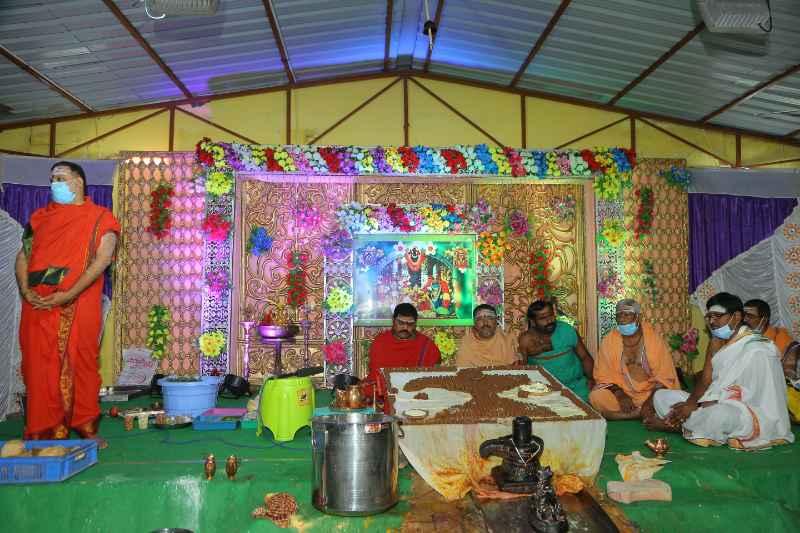 Maha Shivaratri Special Sahasra Lingarchana Sahitha Maha Pashupatha Homam March 11th 2021@ Mulugu Siddanthi Ashramam in Srisailam (25)