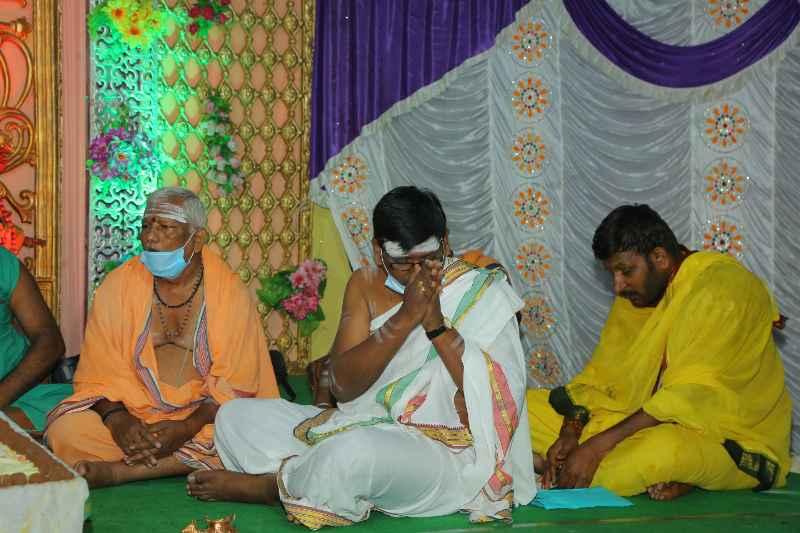 Maha Shivaratri Special Sahasra Lingarchana Sahitha Maha Pashupatha Homam March 11th 2021@ Mulugu Siddanthi Ashramam in Srisailam (26)