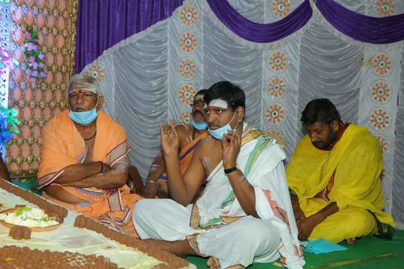 Maha Shivaratri Special Sahasra Lingarchana Sahitha Maha Pashupatha Homam March 11th 2021@ Mulugu Siddanthi Ashramam in Srisailam (28)