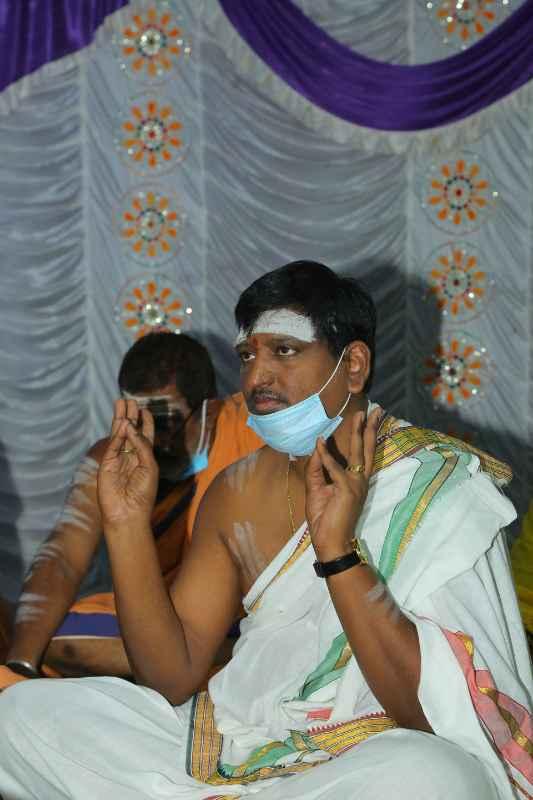 Maha Shivaratri Special Sahasra Lingarchana Sahitha Maha Pashupatha Homam March 11th 2021@ Mulugu Siddanthi Ashramam in Srisailam (30)