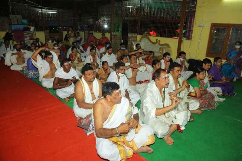 Maha Shivaratri Special Sahasra Lingarchana Sahitha Maha Pashupatha Homam March 11th 2021@ Mulugu Siddanthi Ashramam in Srisailam (31)