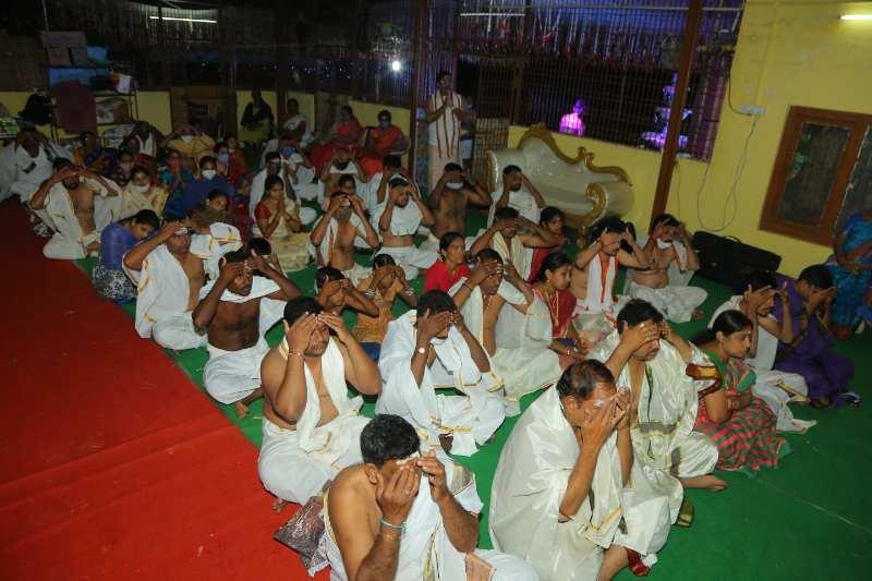 Maha Shivaratri Special Sahasra Lingarchana Sahitha Maha Pashupatha Homam March 11th 2021@ Mulugu Siddanthi Ashramam in Srisailam (33)