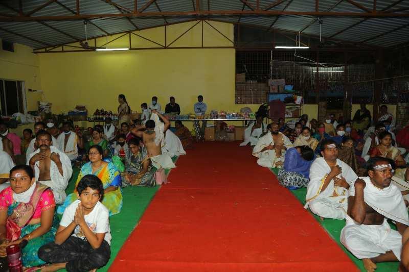 Maha Shivaratri Special Sahasra Lingarchana Sahitha Maha Pashupatha Homam March 11th 2021@ Mulugu Siddanthi Ashramam in Srisailam (34)