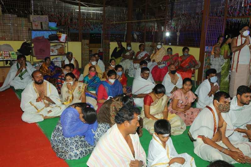 Maha Shivaratri Special Sahasra Lingarchana Sahitha Maha Pashupatha Homam March 11th 2021@ Mulugu Siddanthi Ashramam in Srisailam (35)