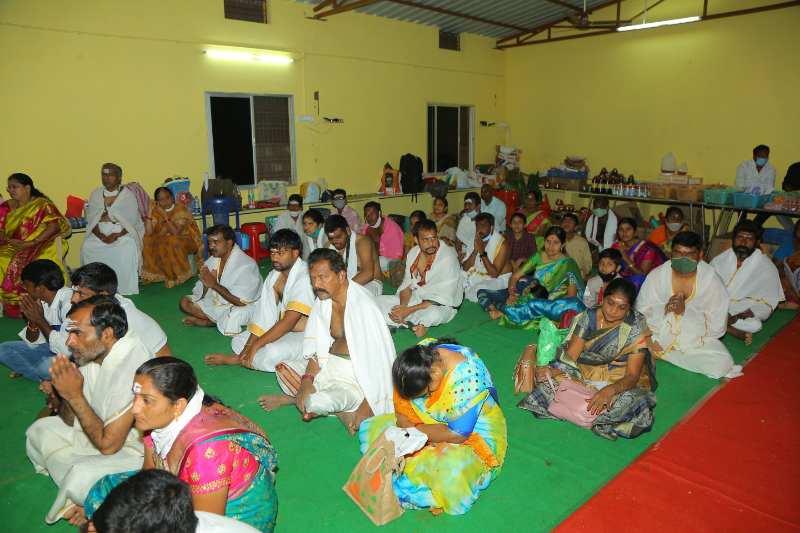 Maha Shivaratri Special Sahasra Lingarchana Sahitha Maha Pashupatha Homam March 11th 2021@ Mulugu Siddanthi Ashramam in Srisailam (36)