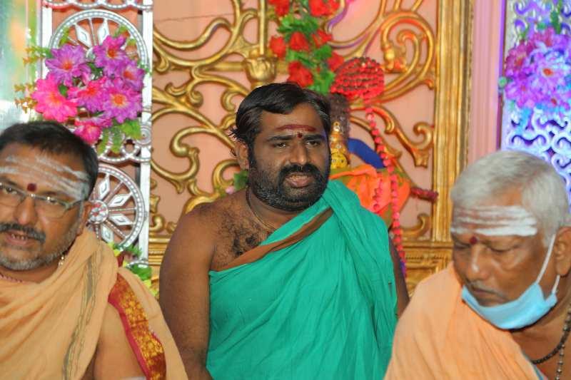 Maha Shivaratri Special Sahasra Lingarchana Sahitha Maha Pashupatha Homam March 11th 2021@ Mulugu Siddanthi Ashramam in Srisailam (39)