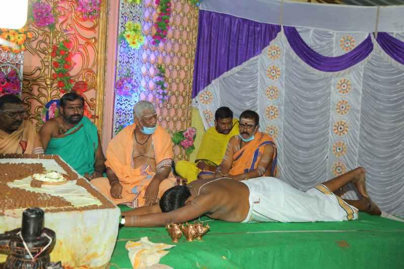 Maha Shivaratri Special Sahasra Lingarchana Sahitha Maha Pashupatha Homam March 11th 2021@ Mulugu Siddanthi Ashramam in Srisailam (42)