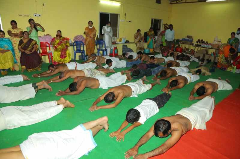 Maha Shivaratri Special Sahasra Lingarchana Sahitha Maha Pashupatha Homam March 11th 2021@ Mulugu Siddanthi Ashramam in Srisailam (43)