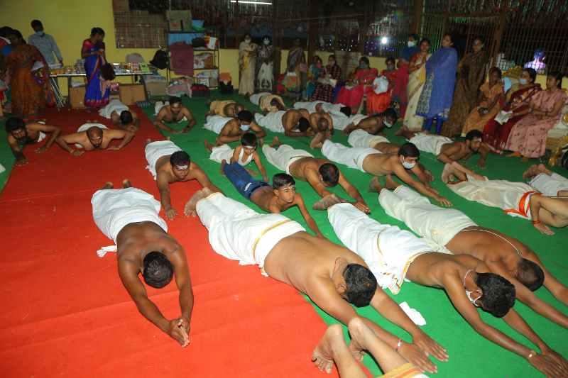 Maha Shivaratri Special Sahasra Lingarchana Sahitha Maha Pashupatha Homam March 11th 2021@ Mulugu Siddanthi Ashramam in Srisailam (44)