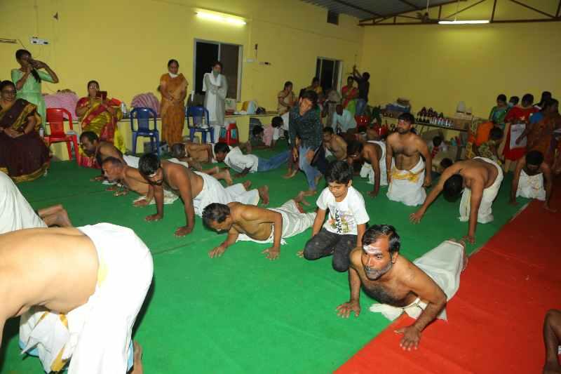 Maha Shivaratri Special Sahasra Lingarchana Sahitha Maha Pashupatha Homam March 11th 2021@ Mulugu Siddanthi Ashramam in Srisailam (45)