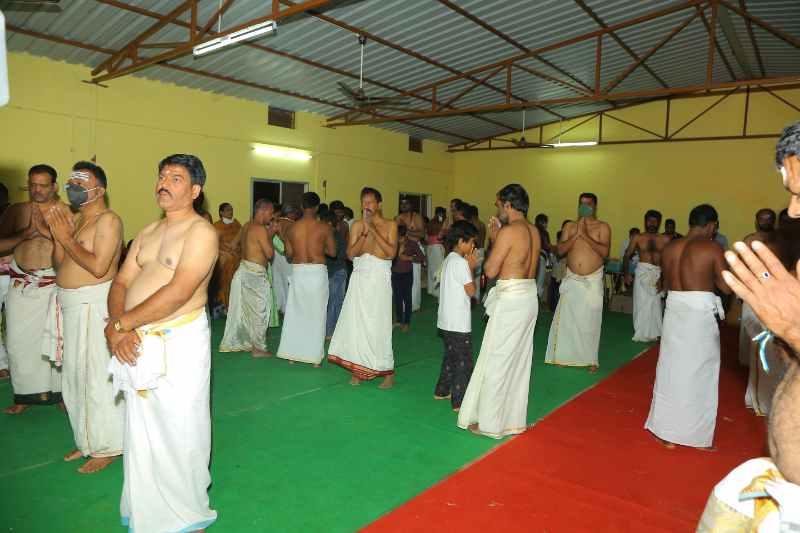 Maha Shivaratri Special Sahasra Lingarchana Sahitha Maha Pashupatha Homam March 11th 2021@ Mulugu Siddanthi Ashramam in Srisailam (46)