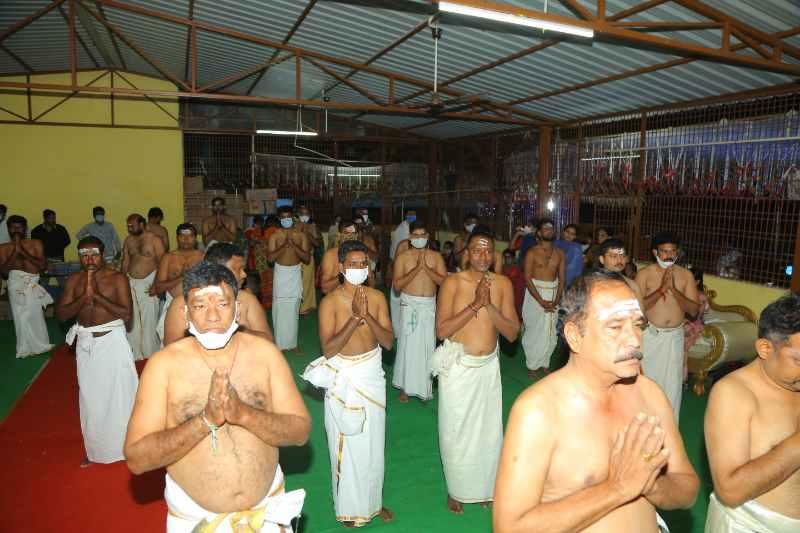 Maha Shivaratri Special Sahasra Lingarchana Sahitha Maha Pashupatha Homam March 11th 2021@ Mulugu Siddanthi Ashramam in Srisailam (47)