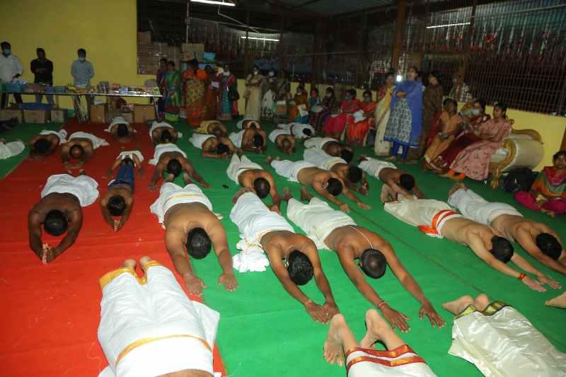 Maha Shivaratri Special Sahasra Lingarchana Sahitha Maha Pashupatha Homam March 11th 2021@ Mulugu Siddanthi Ashramam in Srisailam (48)