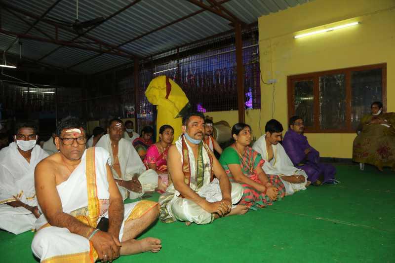 Maha Shivaratri Special Sahasra Lingarchana Sahitha Maha Pashupatha Homam March 11th 2021@ Mulugu Siddanthi Ashramam in Srisailam (5)