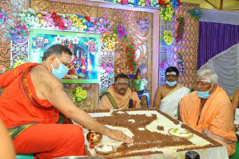 Maha Shivaratri Special Sahasra Lingarchana Sahitha Maha Pashupatha Homam March 11th 2021@ Mulugu Siddanthi Ashramam in Srisailam (50)