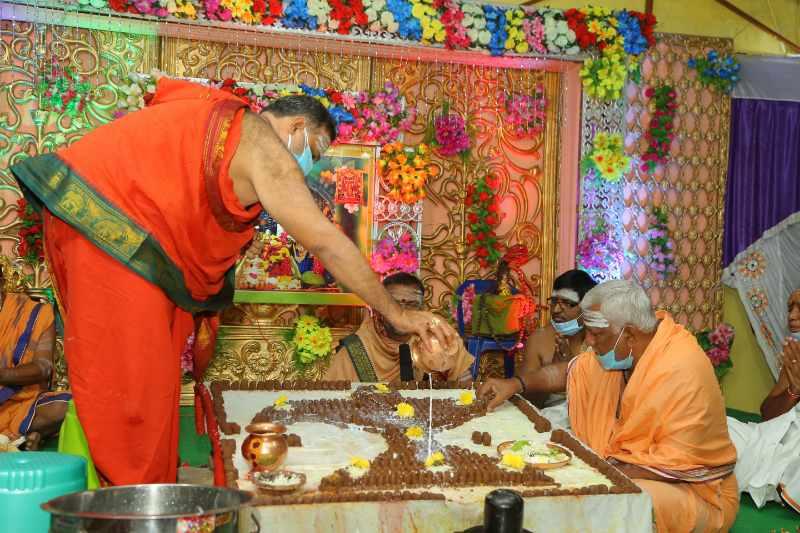 Maha Shivaratri Special Sahasra Lingarchana Sahitha Maha Pashupatha Homam March 11th 2021@ Mulugu Siddanthi Ashramam in Srisailam (52)