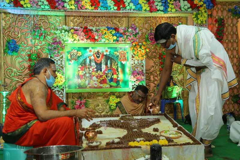 Maha Shivaratri Special Sahasra Lingarchana Sahitha Maha Pashupatha Homam March 11th 2021@ Mulugu Siddanthi Ashramam in Srisailam (57)