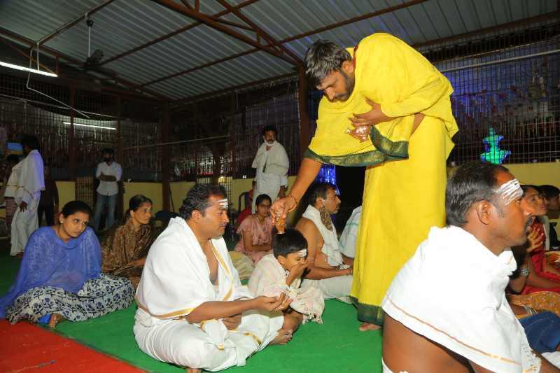 Maha Shivaratri Special Sahasra Lingarchana Sahitha Maha Pashupatha Homam March 11th 2021@ Mulugu Siddanthi Ashramam in Srisailam (6)