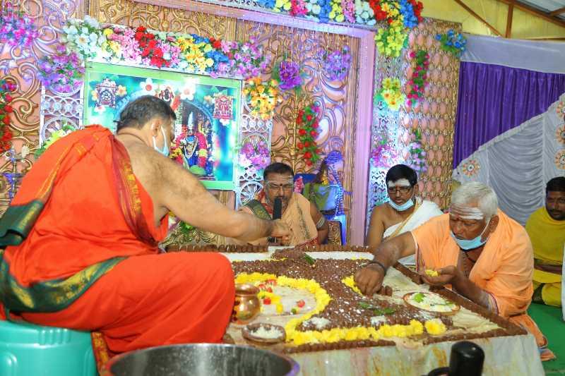 Maha Shivaratri Special Sahasra Lingarchana Sahitha Maha Pashupatha Homam March 11th 2021@ Mulugu Siddanthi Ashramam in Srisailam (67)