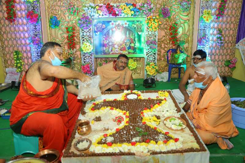 Maha Shivaratri Special Sahasra Lingarchana Sahitha Maha Pashupatha Homam March 11th 2021@ Mulugu Siddanthi Ashramam in Srisailam (68)