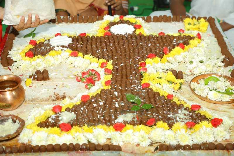 Maha Shivaratri Special Sahasra Lingarchana Sahitha Maha Pashupatha Homam March 11th 2021@ Mulugu Siddanthi Ashramam in Srisailam (69)