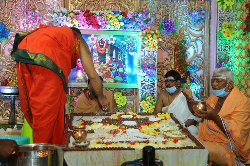 Maha Shivaratri Special Sahasra Lingarchana Sahitha Maha Pashupatha Homam March 11th 2021@ Mulugu Siddanthi Ashramam in Srisailam (70)