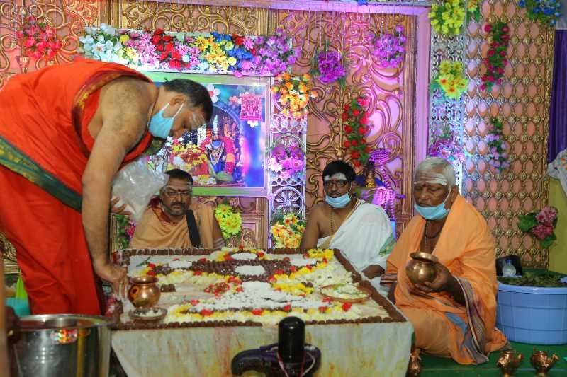Maha Shivaratri Special Sahasra Lingarchana Sahitha Maha Pashupatha Homam March 11th 2021@ Mulugu Siddanthi Ashramam in Srisailam (71)