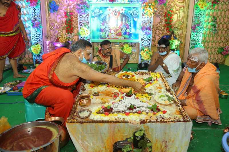 Maha Shivaratri Special Sahasra Lingarchana Sahitha Maha Pashupatha Homam March 11th 2021@ Mulugu Siddanthi Ashramam in Srisailam (79)