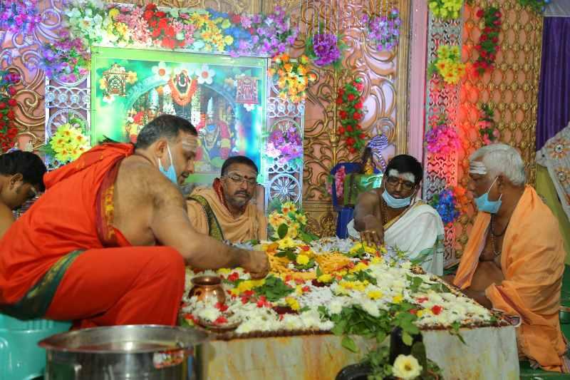 Maha Shivaratri Special Sahasra Lingarchana Sahitha Maha Pashupatha Homam March 11th 2021@ Mulugu Siddanthi Ashramam in Srisailam (81)