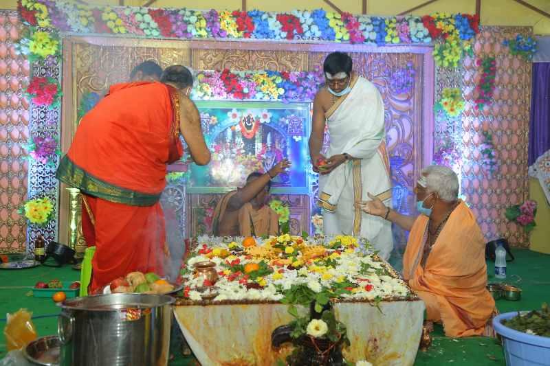 Maha Shivaratri Special Sahasra Lingarchana Sahitha Maha Pashupatha Homam March 11th 2021@ Mulugu Siddanthi Ashramam in Srisailam (85)