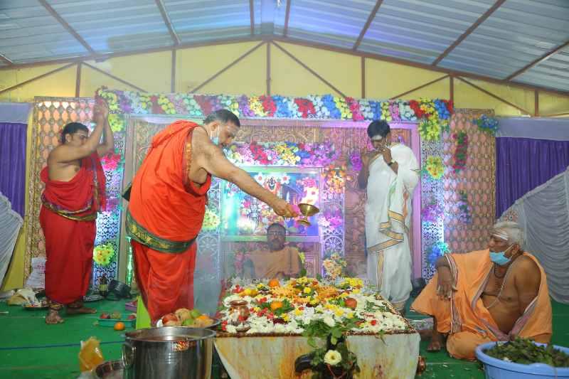 Maha Shivaratri Special Sahasra Lingarchana Sahitha Maha Pashupatha Homam March 11th 2021@ Mulugu Siddanthi Ashramam in Srisailam (86)