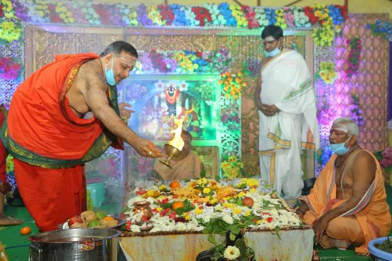 Maha Shivaratri Special Sahasra Lingarchana Sahitha Maha Pashupatha Homam March 11th 2021@ Mulugu Siddanthi Ashramam in Srisailam (87)