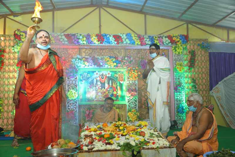 Maha Shivaratri Special Sahasra Lingarchana Sahitha Maha Pashupatha Homam March 11th 2021@ Mulugu Siddanthi Ashramam in Srisailam (89)
