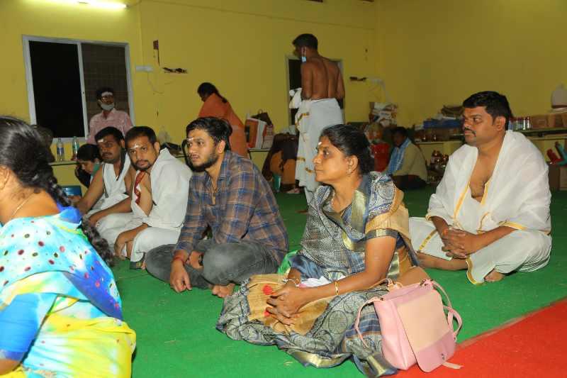 Maha Shivaratri Special Sahasra Lingarchana Sahitha Maha Pashupatha Homam March 11th 2021@ Mulugu Siddanthi Ashramam in Srisailam (9)