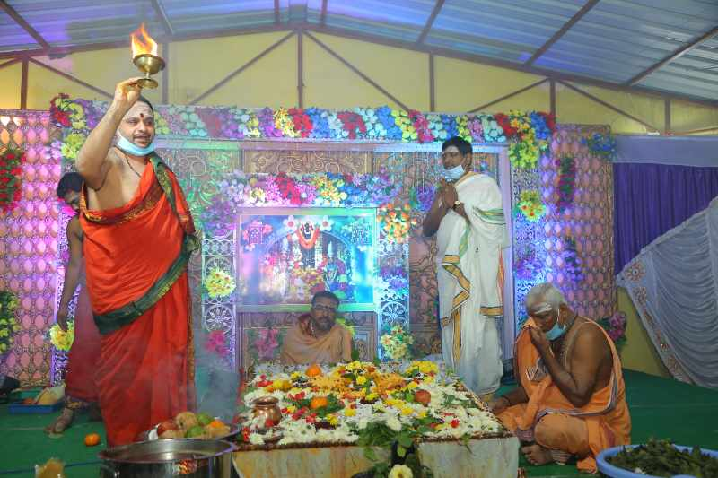 Maha Shivaratri Special Sahasra Lingarchana Sahitha Maha Pashupatha Homam March 11th 2021@ Mulugu Siddanthi Ashramam in Srisailam (90)