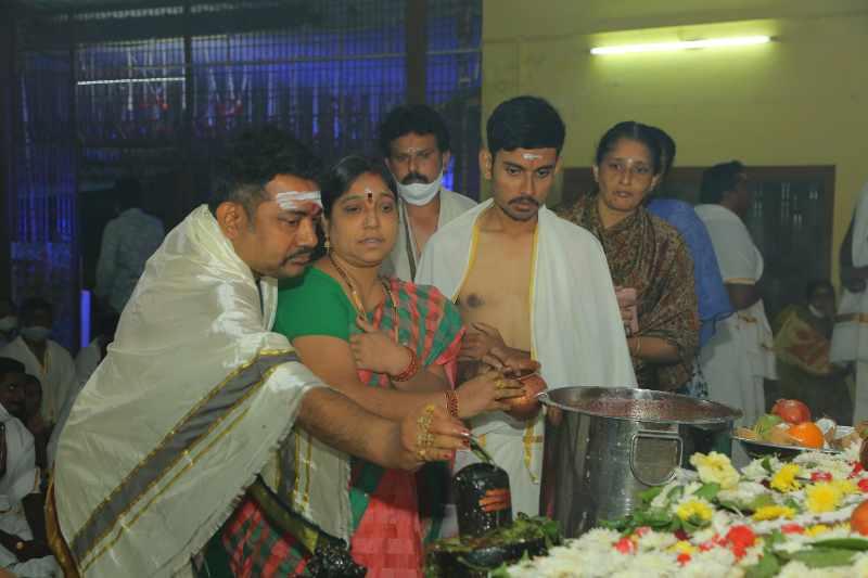 Maha Shivaratri Special Sahasra Lingarchana Sahitha Maha Pashupatha Homam March 11th 2021@ Mulugu Siddanthi Ashramam in Srisailam (92)