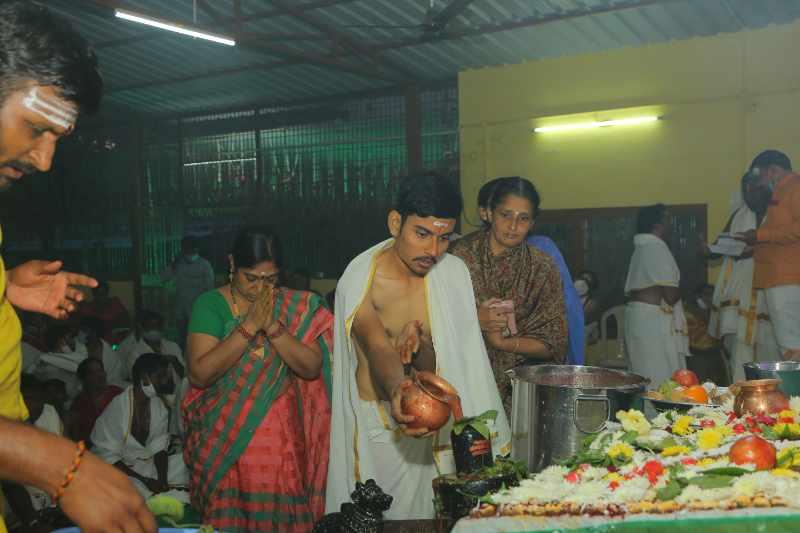 Maha Shivaratri Special Sahasra Lingarchana Sahitha Maha Pashupatha Homam March 11th 2021@ Mulugu Siddanthi Ashramam in Srisailam (93)