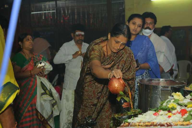 Maha Shivaratri Special Sahasra Lingarchana Sahitha Maha Pashupatha Homam March 11th 2021@ Mulugu Siddanthi Ashramam in Srisailam (94)