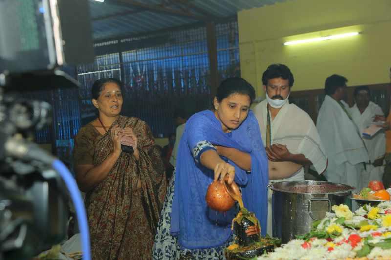 Maha Shivaratri Special Sahasra Lingarchana Sahitha Maha Pashupatha Homam March 11th 2021@ Mulugu Siddanthi Ashramam in Srisailam (95)