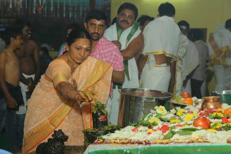Maha Shivaratri Special Sahasra Lingarchana Sahitha Maha Pashupatha Homam March 11th 2021@ Mulugu Siddanthi Ashramam in Srisailam (98)