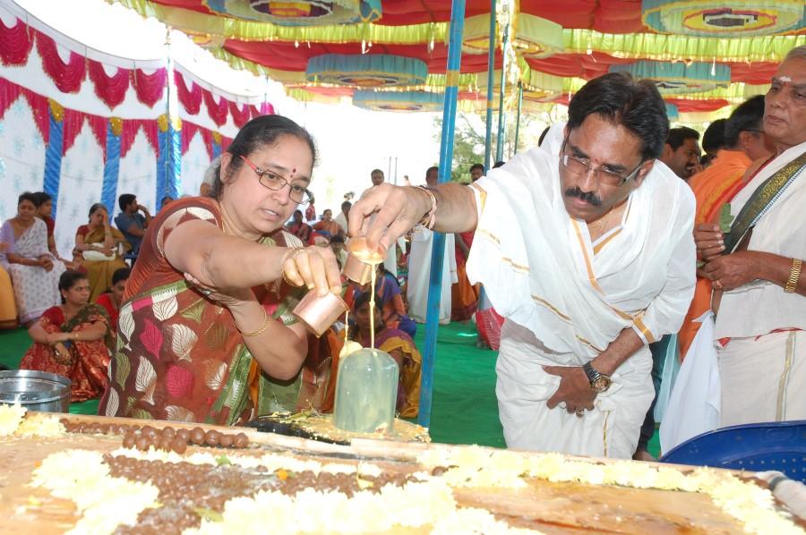 Maha Shivratri Special Maha Pasupatha Homam 2014 (179)
